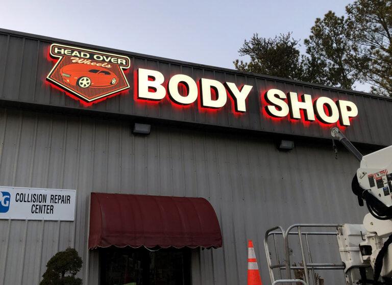 Head Over Wheels Body Shop